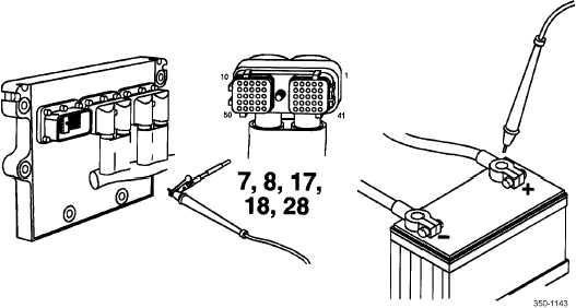 Error Code 1343 - Engine ECU (794) Internal Communication